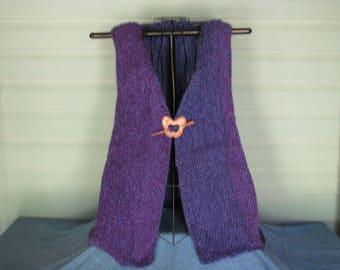 Hand woven vest