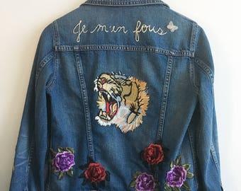 Pardon My French Denim Jacket