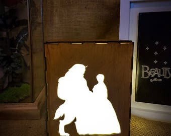 Disney Light Box - Beauty and The Beast