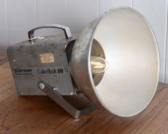 Desk lamp, lighting, table lamp, Retro Fitted Colorflash Desk Lamp, Vintage, 1970s, Sudio Light
