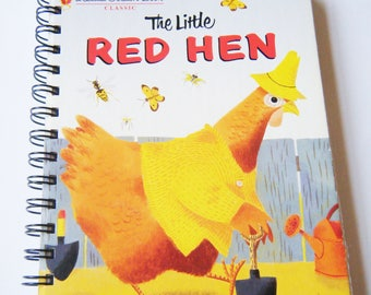 The Little Red Hen Little Golden Book Daily Planner Notebook