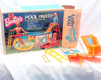 1974 Vintage Barbie Pool