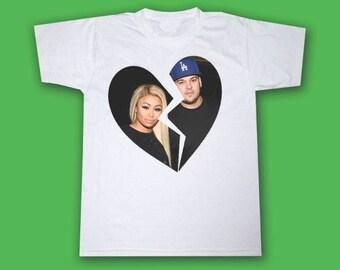 Blac Chyna Rob Kardashian Break Up T Shirt
