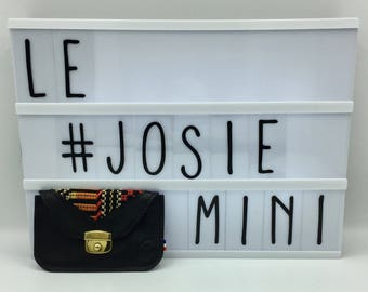 Josie dark red leather