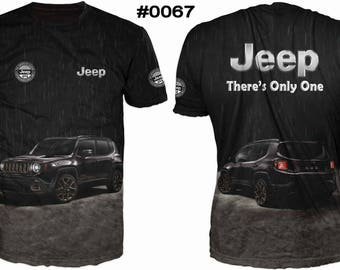 New ultramodern 3D  High Quality  Jeep There Only One  Men's T-shirt
