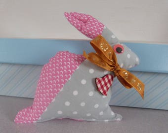 A fabric Bunny plush