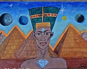 Nefertiti 18x24