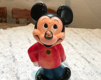 1970 Mickey Mouse Bank