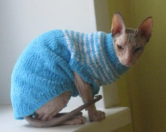 Teddy sweater for a cat (cat)