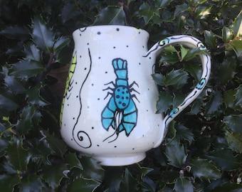 Rainbow Lobster Mug