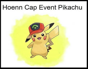 Ash-Pikachu Event (Hoenn Cap) | Pokemon Sun and Moon