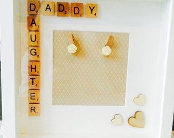 Vintage Daddy Daughter Frame