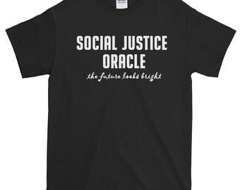 Social Justice Oracle Unisex Short-Sleeve T-Shirt D&D nerd geeky SJW politics