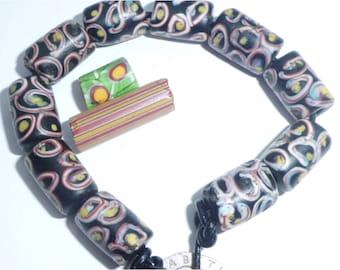 Antique Venetian Glass Trade Beads 1800's