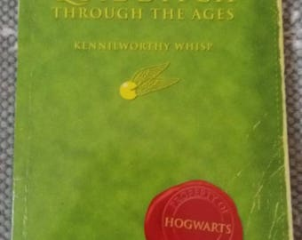 Quidditch through the ages by JK Rowling. 1st edition published in 2001 Comic relief.