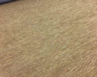 CLOSE OUT PRICING!  Brown textured chenille fabric