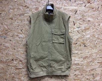 Vintage Fubu Zipper Vest