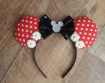 Classic Minnie Mouse Disney Ears