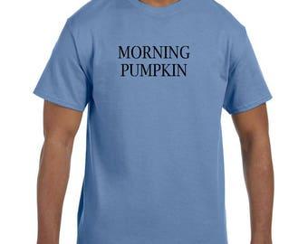 Funny Humor Tshirt Morning Pumpkin model xx50409