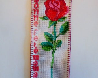 Mother's day bookmarks, give a rose