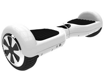 4 Colors 6.5 Inch Hoverboard Two Wheels Self Balance Scooter Hover Board - White / Germany