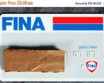 Summer Sale 1987 Fina Credit Card Expired