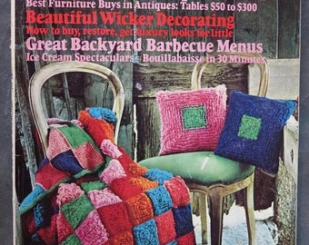 Summer Sale American Home Magazine June 1974 Building, Design and Decorating, Crafts, Food, Home Projects, Gardening