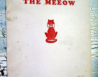S The Meeow 1942 Senior Edition J B Young High School Bemis Tennessee