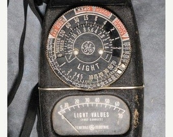 GE Exposure Meter Model 8DW58Y4