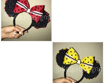 Bee Minnie Ears, Bee Ears, Ladybug Minnie Ears, Ladybug Ears, mickey ears, Minnie Ears, disney ears