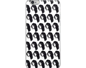Amy Winehouse Funny Cute iPhone Case - Iphone 7 case - Iphone 8 case - Iphone 7 plus case - Iphone 6 case - Iphone X case