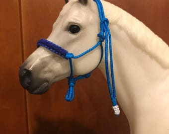 Premade Model Horse Rope Halters