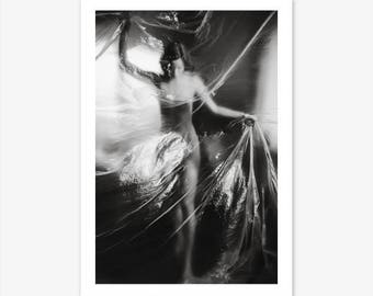 Photography Prints, Black and White Wall Art, Fashion Wall Art, Get Naked Print, Nudity Art, Black and White Prints, Modern Wall Art, Boho