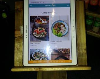 Recipe book or tablet holder.