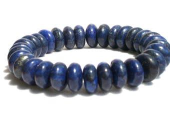 lapis lazuli bracelet, lapis lazuli jewelry, gemstone jewerl, free shipping