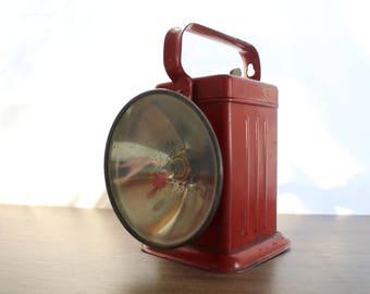 Vintage Niagara No. 16 Lantern / Flashlight / Spotlight / Railroad
