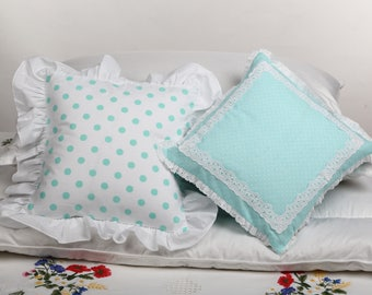 Pillowcase Soft Natural Small Pillowcase 100% Cotton White Goose Down Pillow Travel Pillow Small Pillowcase