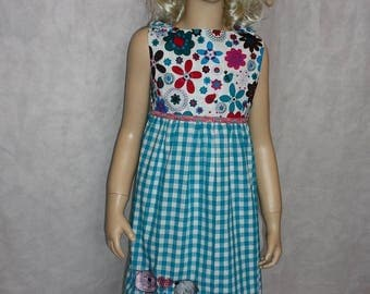 Pinafore dress Elina new GR. 128 enrolment, party