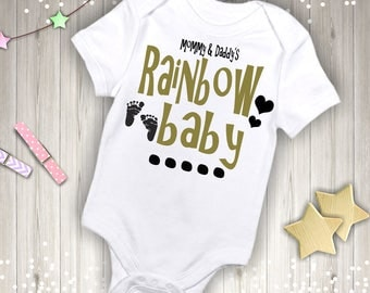 Mommy & Daddy's Rainbow Baby Outfit