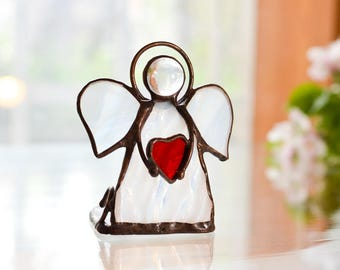 Сandle Holder  Angel  Stained Glass