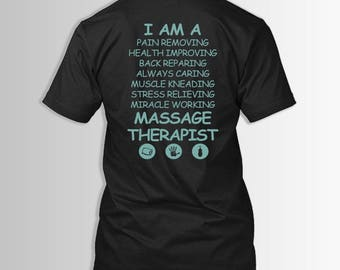 massage therapist rhyme massage therapist professionals gift shirt t shirt - Masseur Cover Letter