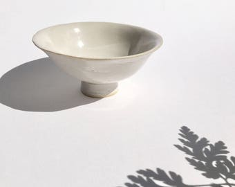 Handmade Japanese style bowl