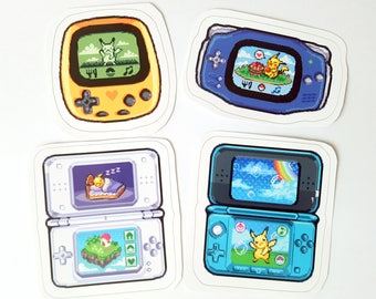 Pocket Pikachu Stickers