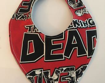The Walking Dead feeding bib