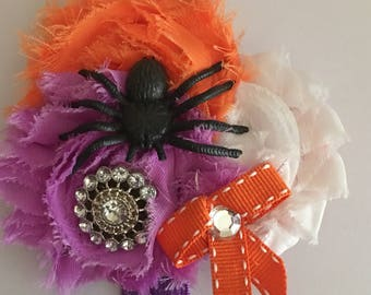 Spider halloween headband fits infant-toddler