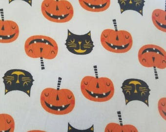 Baby and Toddler leggings- Halloween Kitten and Pumpkins!