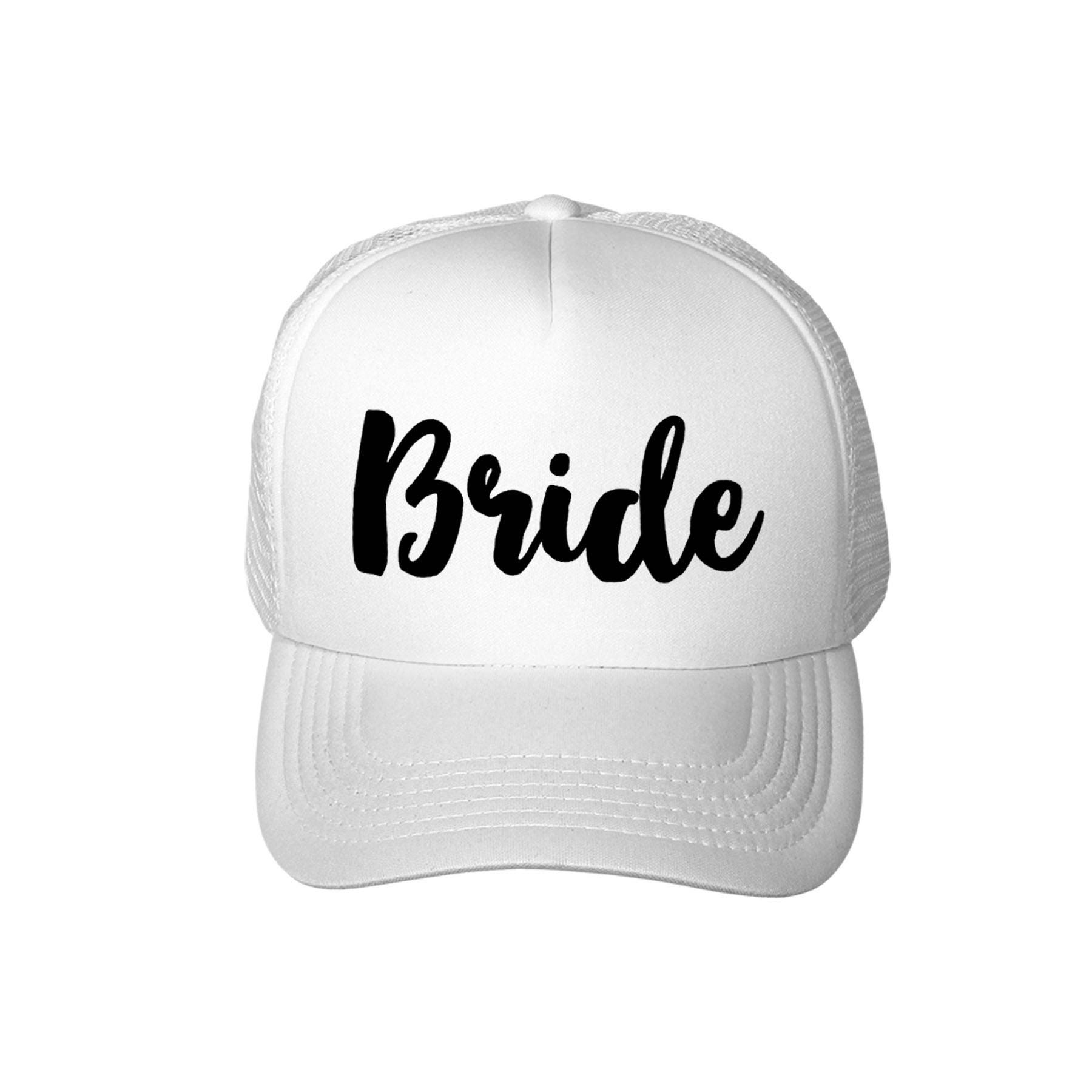 ff4332bc26947 Wedding Party Trucker Hats - Parchment N Lead