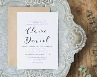 Editable Wedding Invitation Template, Printable Wedding Invitation, Wedding Invitation Printable, Wedding Invitation Download - KPC06_102