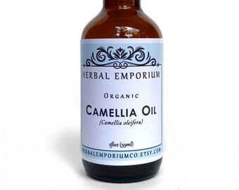 Organic Camellia Oil, Camellia oleifera, Camellia Oil, Camellia Seed Oil, Tsubaki Oil, Face Oil, Camellia Tea Oil