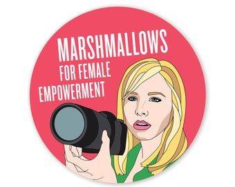 Feminist Veronica Mars Sticker